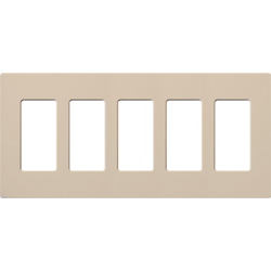 Lutron, Satin Colors Wallplates, SC-5-TP
