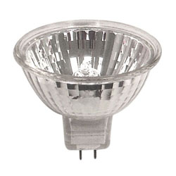 Osram Sylvania, Tungsten Halogen, MR-16 Series, 50W, Bi-Pin (GU5.3 Base), 50MR16/NFL25/C(EXZ), 58326