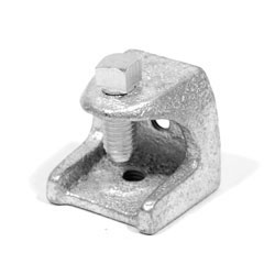 """Beam Clamp, 1/2"""" - 13 Tap Hole , 2 1/2"""" Opening, 800 lbs Load Capacity"""