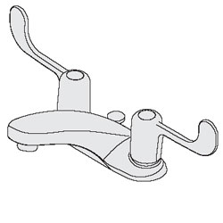 Symmons, Lavatory Faucet, S-240-1.0-LWG