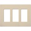 Lutron, Satin Colors Wallplates, SC-3-ST