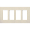 Lutron, Satin Colors Wallplates, SC-4-LS