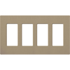 Lutron, Satin Colors Wallplates, SC-4-MS