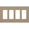 Lutron, Satin Colors Wallplates, SC-4-MS