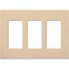 Lutron, Satin Colors Wallplates, SC-3-DS