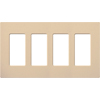 Lutron, Satin Colors Wallplates, SC-4-DS