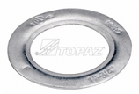 "Topaz, Reducing Washers, 1 1/4"" x 1/2"" Size, Steel, Zinc Finish, M49317"
