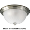 Progress Lighting, 3-light Flushmount, P3818-10
