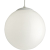 Progress Lighting, Wht 1-lt Pendant, P4403-29