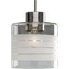 Progress Lighting, BrsNckl 1-lt Pendant, P5159-09
