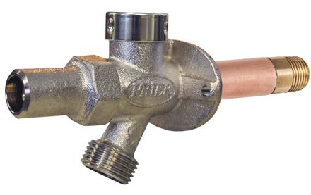 """Prier, 4"""" Frost-Free Anti Siphon Sillcock (With Loose Key), M64862"""