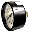 Wal-Rich, Back Outlet Pressure Gauge, 2-1/2 In. Dial, 1/4 In. NPT, 100 PSI, 1714004