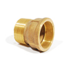 """Approved Vendor, 1/2"""" Threadless Pipe X Male Adapter, TPM12"""