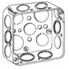 Cooper Crouse Hinds, Steel 4 Square Box, TP405
