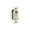 Leviton, 5336-I, Traditional Style Single-Pole/Neon Pilot AC Combination Switch