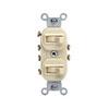 Leviton, 5243-I, Traditional Style 3-Way/3-Way Dual AC Combination Switch