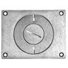 Wiremold, 829CK-3/4, Recessed Floor Box Coverplate, Communications Cover Plate