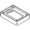 Wiremold, 817T, 1-Gang Brass Tile flange