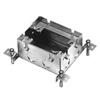 Wiremold, 880M1, Omnibox Series Shallow Steel Floor Box