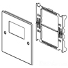 Wiremold, V4047RX, 2-Gang Overlapping Cover Rectangle Opening Cover Plates