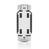 Leviton, 4-Port USB Charger, USB4P-W