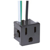 Satco, 3 Wire 2 Pole Snap-in Convenience Outlet, 80-1142
