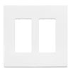 Cooper Wiring Devices, Aspire 2-gang Wallplate, 9522WS