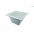 "Jones Stephens, Floor Sink, 3"" x 4"" PVC Floor Sink, PVC Pipe Fit Floor Sink, M77473"