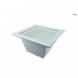 """Jones Stephens, Floor Sink, 3"""" x 4"""" PVC Floor Sink, PVC Pipe Fit Floor Sink, M77473"""