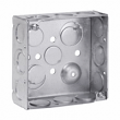 Crouse, TP404, Steel Square Outlet Boxes, M77748