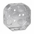 Crouse, TP274, Steel Octagon Outlet Boxes, M47684