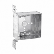 Crouse, TP452, Steel Square Outlet Boxes, M77784