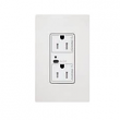 Lutron, CAR2S-20-DTR-WH, Duplex Wireless Receptacles White, M77874