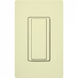 Lutron, MRF2S-8ANS120-AL, Wireless Commercial Switch Almond, M77895