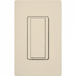 Lutron, MRF2S-8ANS120-LA, Wireless Commercial Switch Light Almond, M77896