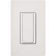 Lutron, MRF2S-8S-DV-SW, Wireless Digital Switch Snow White, M77909