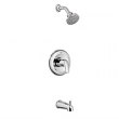 American Standard, T075508.002, Colony Pro Bath and Shower Trim Kit with Showerhead, M77919