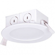 """SATCO, S9063, 5""""/ 6"""" Dimmable Direct Wire LED Edge-Lit Downlight, M77956"""