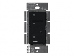 Lutron Caseta Wireless Smart Fan Speed Control, Single-Pole, PD-FSQN-BL, Black,