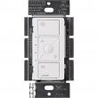 Lutron Caseta Wireless Smart Fan PD-FSQN-WH, White,