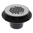 Sioux Chief, 821-200P, PVC Screw On Shower Pan Drain w/ Stainless Steel Strainer & Plastic Rim, M78294