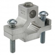 ILSCO, AGC-2, Ground Clamp Dual Rated, 1 1/4 to 2 in. Pipe Size, 250 kcmil-6 AWG, Hex Socket