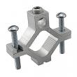 "ILSCO, AGC-4 , Ground Clamp, 2-1/2 to 4"", 6 AWG to 250 MCM, Aluminum, M78298"