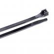 """Garden Bender, 46-308UVB, 8"""" L Cable Tie Black , M78365 (Pack of 100)"""