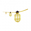 Topaz,1782, Temporary String Lights with Molded Cord ,M78384