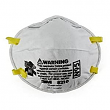 3M, 8210, Disposable Respirator, Universal, White, M78390 (PacK of 20)