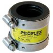 "EVERFLOW, 16112 , 1-1/2"" Proflex Steel PVC Flexible Coupling, M78461"