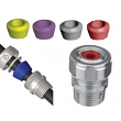 AMERICAN FITTING, CG50K, Steel Straight Cord Grip Connector Kit 1/2-Inch 0.125 - 0.65-Inch, M78539