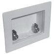 LSP Specialties, OB-201, LSP -T Assembled Outlet Box with Mip Valves, White, M78806