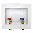 IPS, 82068, Washing Machine Box 1/4 Turn Pex Connector, M78811